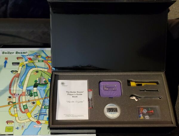 The Boiler Room 2005 quot;The Dr.T Gamequot; Very Rare Brand New Board Game By Essence $59.00