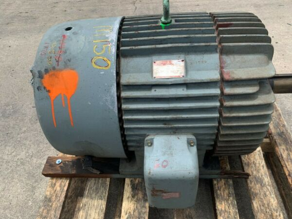 General Electric Induction Motor 125 Hp 1775 RPM $1400.00