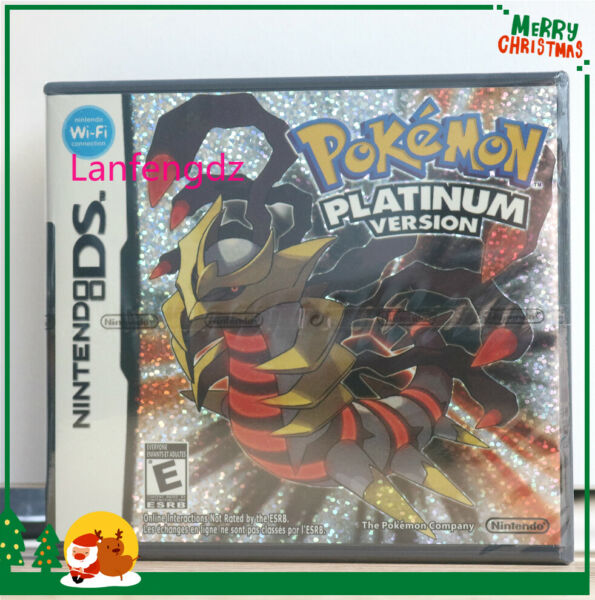 Pokemon: Platinum Version (Nintendo DS,2009) Game Complete *Factory Sealed*