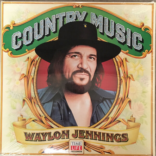 Waylon Jennings SEALED quot;Country Musicquot; LP Outlaw Country