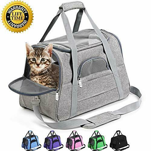 Prodigen Pet Carrier Airline Approved Pet Carrier Dog Carriers for Small Dogs $29.99