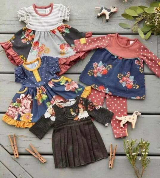 "NEW Matilda Jane Joanna Gaines At Home Doll Clothes SET One Size 18"" Dolls AG"