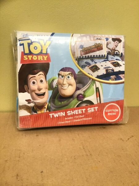 TOY STORY Twin Sheet Set 3 piece by Jay Franco VINTAGE UNOPENED BRAND NEW