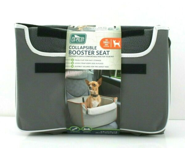 Co Pilot Pet Travels Collapsible Pet Dog Booster Car Seat for Small Dogs $28.00
