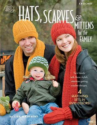 Hats Scarves amp; Mittens for the Family: Crochet by Paperback