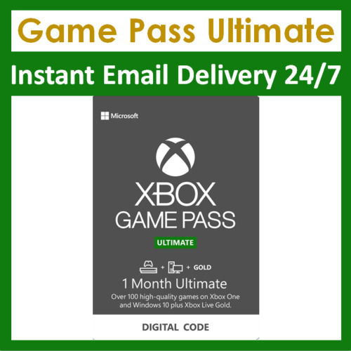 Xbox Live 1 Month Gold amp; Game Pass Ultimate Membership 2x 14 Day Pass $5.79
