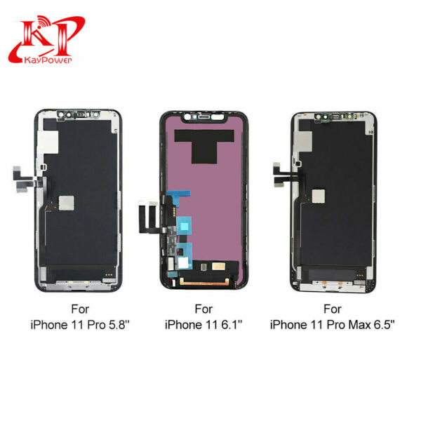 New For iPhone 11 11 Pro Max OLED LCD Display Touch Screen Digitizer Replacement
