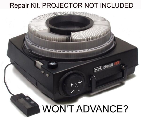 Kodak Carousel Projector quot;ADVANCEquot; Repair Kit autofocus amp; remote focus control
