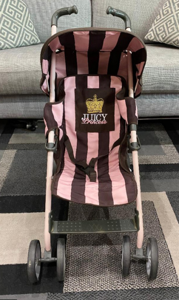 JUICY COUTURE BABY DOLL TOY STROLLER $50.00