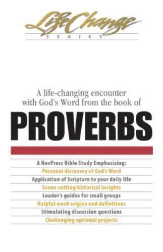Proverbs LifeChange by Paperback