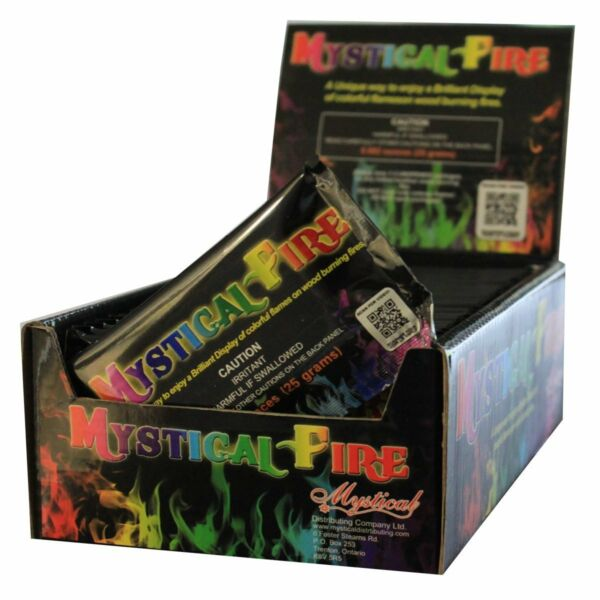 Mystical Fire Campfire Fireplace Colorant Packets 25 Pack Mystical Fire