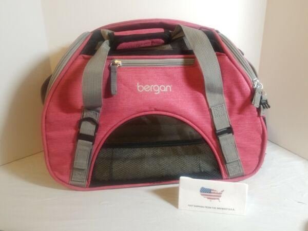 Bergan Comfort Carrier for Pets Berry Small never used $29.99