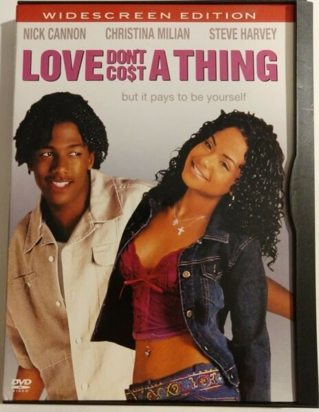 Love Don#x27;t Cost a Thing DVD 2004 Nick Cannon Christina Milian Steve Harvey $3.99
