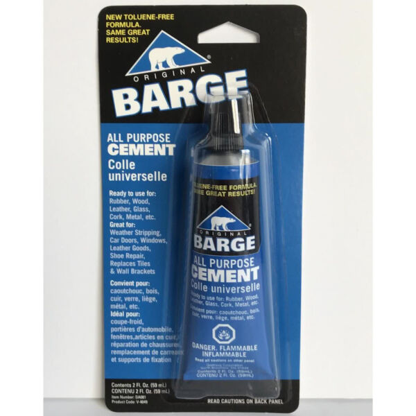 Barge All Purpose Cement Leather Rubber Wood Glass Glue 2 oz $8.49