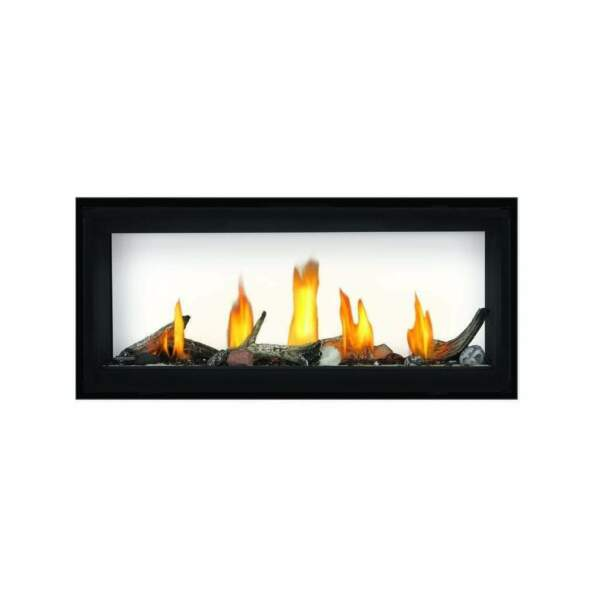 See Through 38quot; Linear Direct Vent Gas Fireplace Contemporary Luxurious