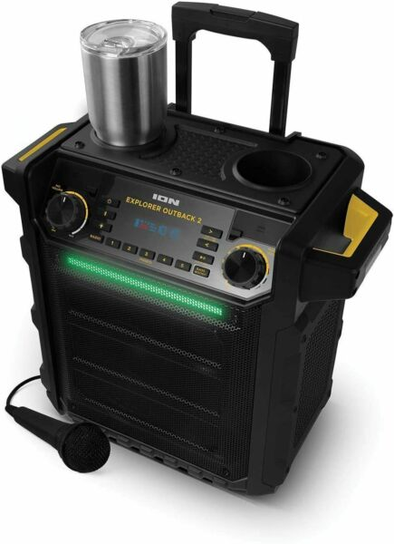ION Explorer Outback 2 Bluetooth Water Resistant IPX5 Speaker amp; Mic System $139.99
