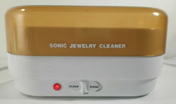 International Silver Company ATC 3 Sonic Jewelry Cleaner Electric Jewelry Clean $19.99