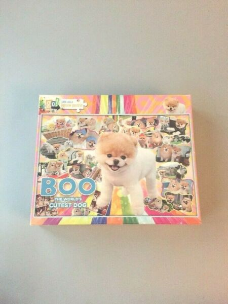 Boo The World#x27;s Cutest Dog 1000 Piece Puzzle $8.00