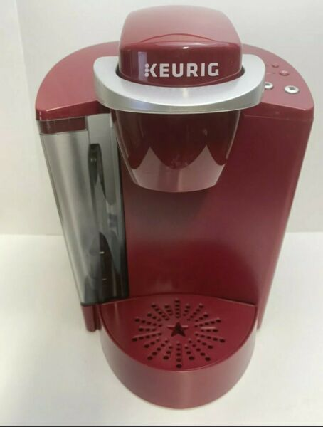 Keurig Classic K40 Pod Coffee Maker Red 48 oz Tested and Descaled