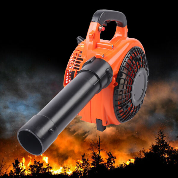 Handheld Leaf Blower Gas 2 Stroke Cycle Commercial Heavy Duty Grass Yard Cleanup