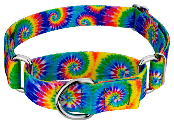 Country Brook Petz® Classic Tie Dye Martingale Dog Collar $11.95
