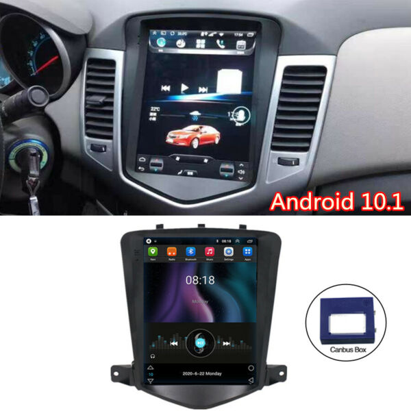 For 2009 14 Chevy Cruze 9.7#x27;#x27; Vertical Android 10.1 Car Radio GPS Wifi Quad Core $179.00