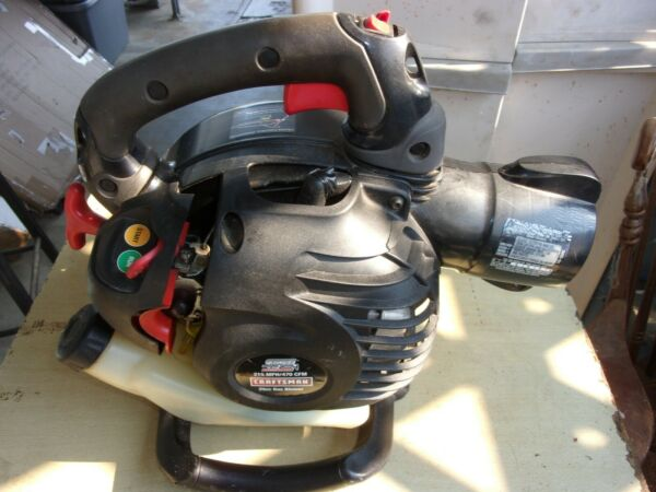 Craftsman 25cc 2Cycle Gas Blower 215 MPH 470 CFM Model 358.794774
