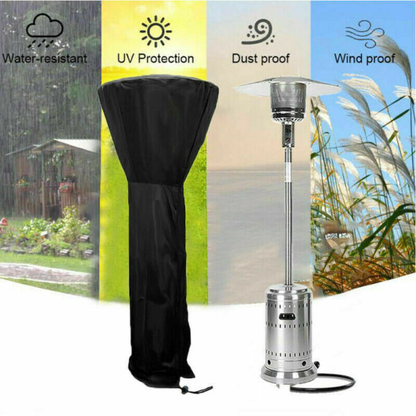 240CM Outdoor Patio Heater Cover Universal Fit Waterproof UV Dust Protection