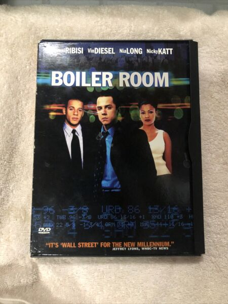 Boiler Room DVD 2000 ***FREE SHIPPING*** $4.94