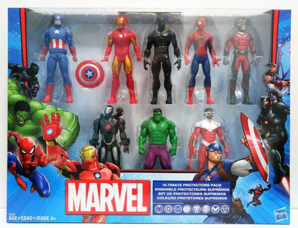 Marvel Avengers Ultimate Protector Pack 8 Hasbro Action Figure Brand New AU $105.95