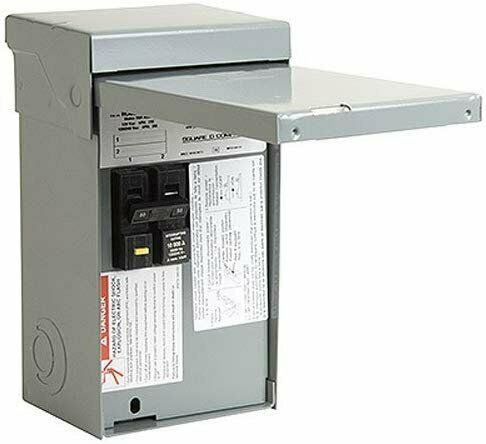 Square D by Schneider Electric HOME250SPA Homeline 50 Amp Spa Panel $168.32