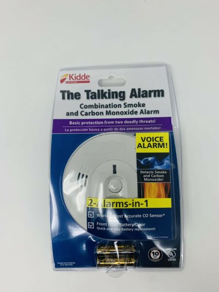 Kidde Battery operated Combination Smoke and Carbon Monoxide Alarms Talking New $29.99