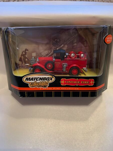 MATCHBOX VINTAGE FIRE COLLECTION 1930 FORD MODEL quot;Aquot; P N 92578