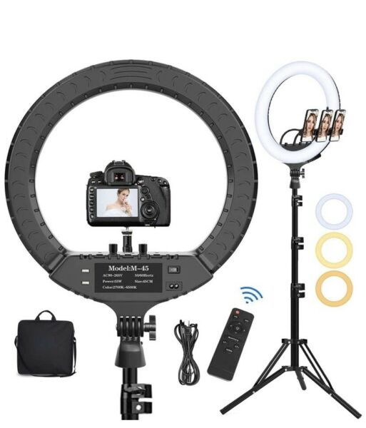18quot; inch BiColor LED Ring Light Kit with Stand Social Media Beauty ✴️BIG SALE✴️