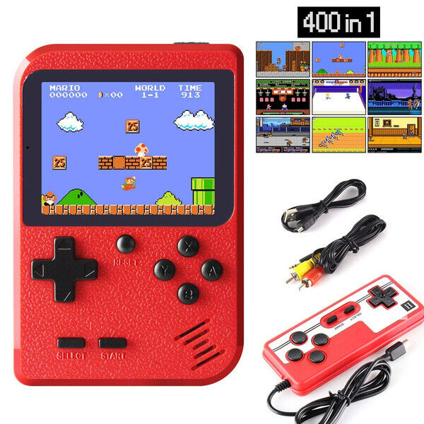 Handheld Video Game Console Built in 400 Classic Games Mini Box for 2 Players $14.99