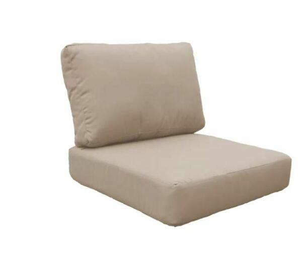 2 Piece Indoor Outdoor Cushion Cover Set tan $49.00