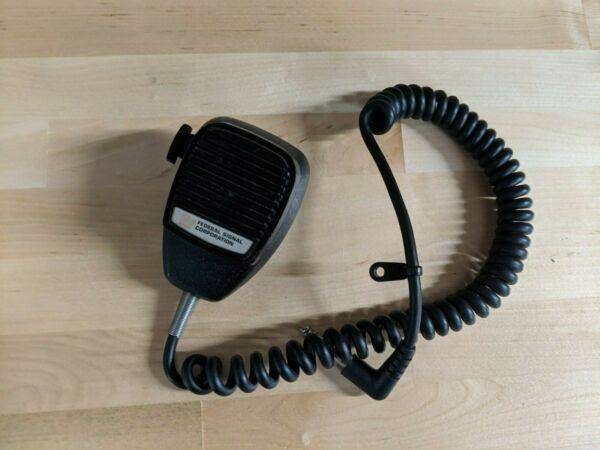 Federal Signal Microphone for SS2000 SS2000 SM MNCT SB