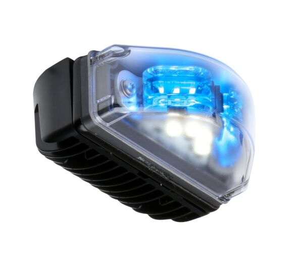 Whelen LINSV2B BLUE Under Mirror Surface Mount Light Head
