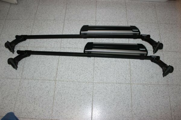 THULE Roof Rack 369 load bar Rooftop Ski fits Mercedes S and BMW 5 series $220.00