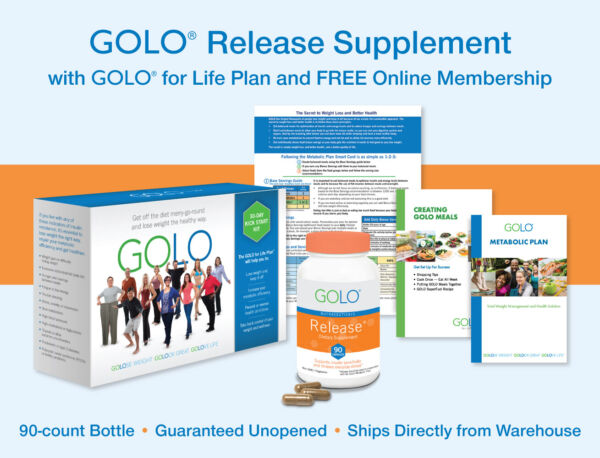 GOLO for Life Plan w Release Supplement ONLY AUTHORIZED SELLER
