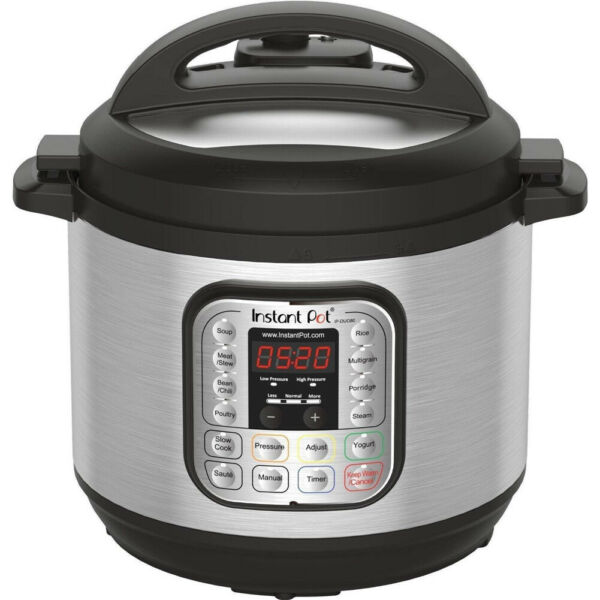 Instant Pot IP DUO80 8 Qt 7 in 1 Multi Use Programmable Pressure Cooker Rice