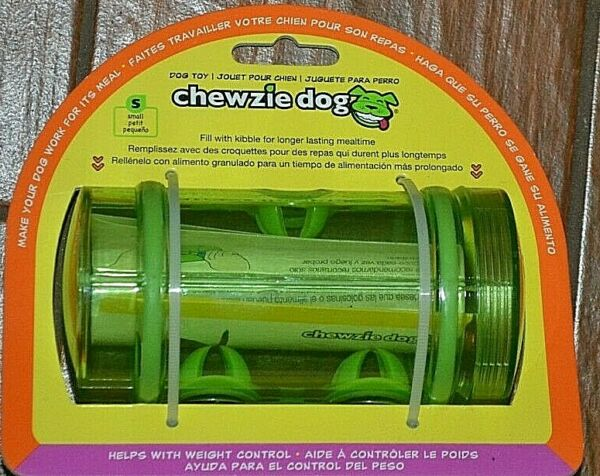 CHEWZIE DOG Dog Toy WEIGHT CONTROL Aid Fill With Kibble BRAND NEW Fun Or Food $9.95