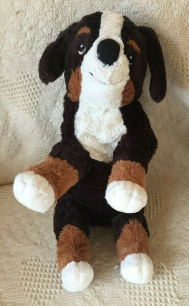 IKEA HOPPIG DOG ST. BERNARD PLUSH 9quot; TALL X 14quot; LONG $8.25