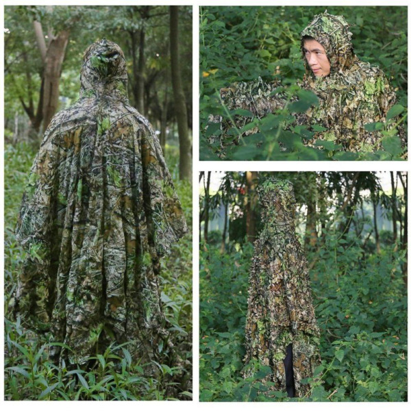 3D camouflage real sniper full body Ghillie Suits