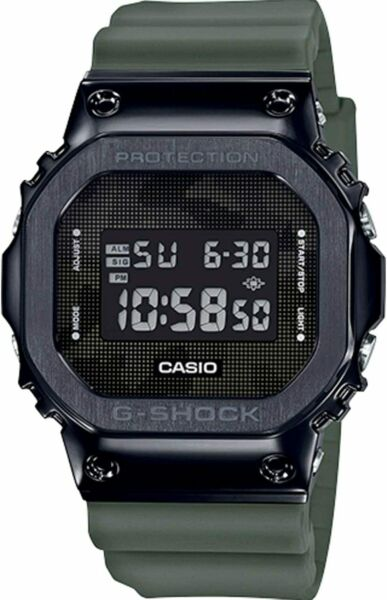 CASIO G SHOCK GM5600B 3 BLACK STEEL ION PLATED GM 5600B 3 NEW IN BOX FREE SHIP