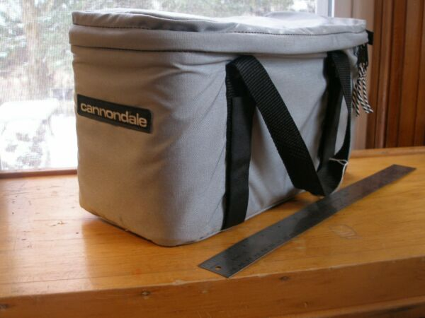 Vintage Cannondale Trunk Bike Bag Rear Rack Top Model B551 Boxcar NOS MINT 1987 $149.00