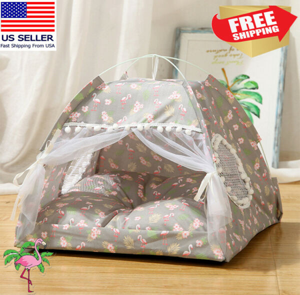 Winter Soft Pet Dog Cat Bed House Kennel Doggy Puppy Warm Cushion Basket Pad Mat $20.69