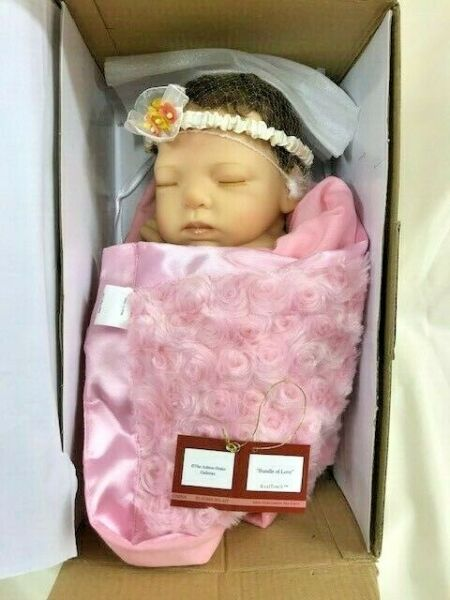 Ashton Drake Galleries Marita Winters Bundle Of Love Lifelike Newborn AS IS