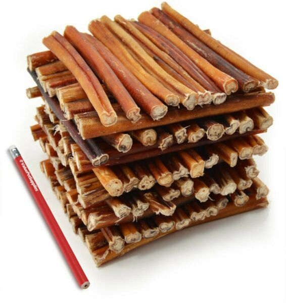 Gourmet Natural Bully Sticks Dog Chews 6 Inch 20 Count $24.99