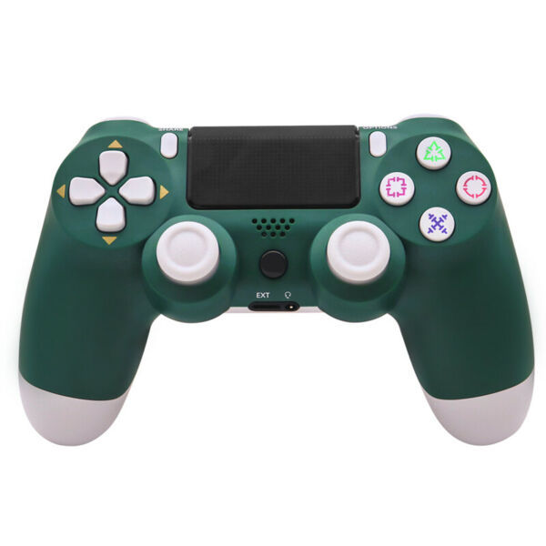 PS4 controller wireless for Sony Playstation 4 Double Vibration ⭐ Green Alpine $42.99